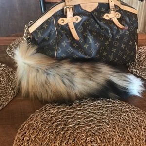 Accessories - Real Fur Fox Tail Accessory for Purse Keys Etc